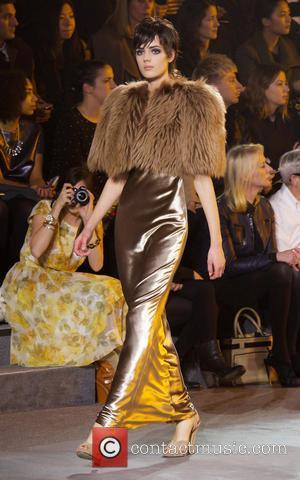 Model - NYFW Marc Jacobs Show at New York Fashion Week - New York City, NY, United States - Thursday...