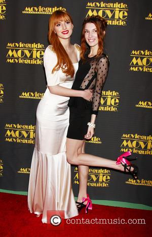 Bella Thorne and Dani Thorne - The 21st Annual Movieguide Awards at Universal Hilton Hotel - Los Angeles, California, United...