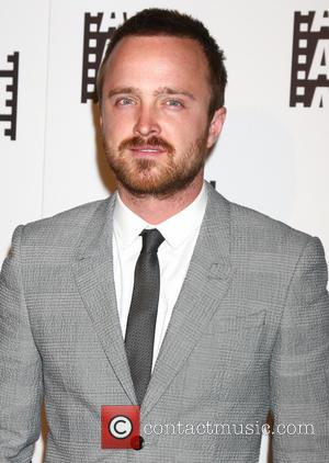 Aaron Paul And Fiancee Celebrate At Engagement Party