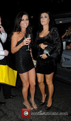 Kym Marsh and Dawn Ward - Celebrities attend a private party at Gusto Restaurant - Alderley Edge, United Kingdom -...