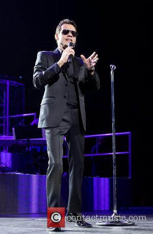 Marc Anthony - Marc Anthony performing at the Barclays Center...