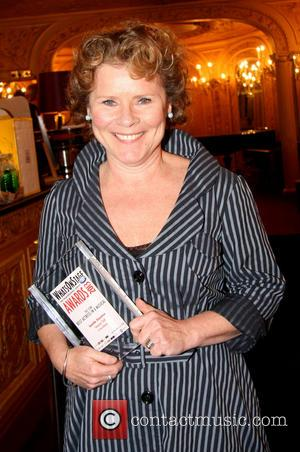 Imelda Staunton - Whatsonstage.com Awards 2013 at the Palace Theatre - Inside at Palace Theatre - London, United Kingdom -...