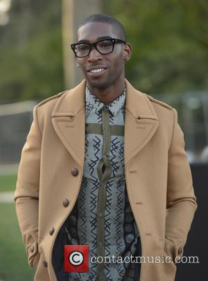 Tinie Tempah - London Fashion Week - Autumn/Winter 2013 - Burberry Prorsum - Arrivals at London Fashion Week - London,...
