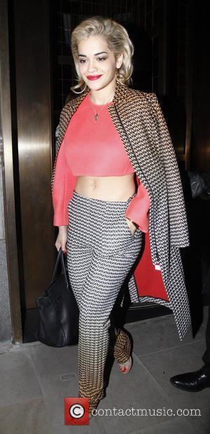 BFFs Rita Ora and Cara Delevingne Swap Clothes for Burberry Event