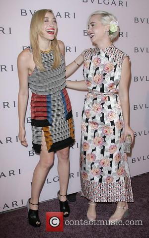 Mia Moretti and Caitlin Moe - BVLGARI celebration of Elizabeth Taylor's collection of BVLGARI jewelry at BVLGARI Rodeo Drive Store...