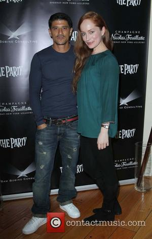 Said Taghmaoui and Lotte Verbeek - 2013 Pre-Oscar Week Brunch for French Artists hosted by Nicolas Feuillatte Champagne held at...