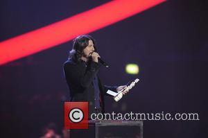 Dave Grohl - The 2013 Brit Awards (Brits) at O2 Arena, Brit Awards - London, United Kingdom - Wednesday 20th...