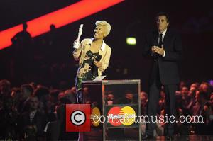 Emeli Sande and Bryan Ferry - The 2013 Brit Awards (Brits) at O2 Arena, Brit Awards - London, United Kingdom...