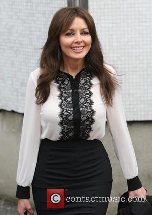 Carol Vorderman - Celebs at ITV - London, United Kingdom - Wednesday 20th February 2013
