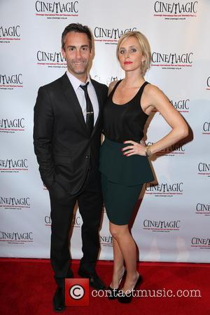 Jay Harrington and Monica Richards - 4th annual LA Cinemagic International Film and Television Festival opening reception - Los Angeles,...