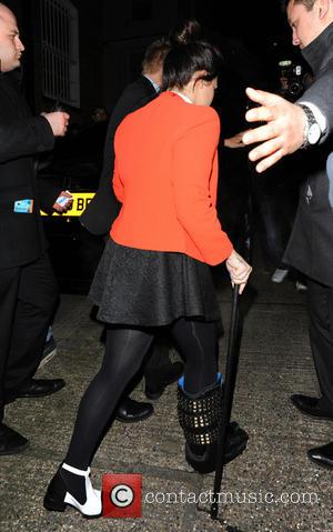 Demi Lovato - Brit Awards After Party At Hakkasan at Brit Awards - London, United Kingdom - Wednesday 20th February...