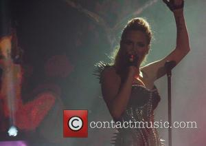 Girls Aloud and Sarah Harding - Girls Aloud performing live in concert - Newcastle, United Kingdom - Thursday 21st February...