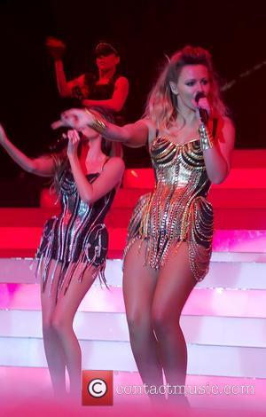 Girls Aloud and Kimberley Walsh - Girls Aloud Perform - Newcastle, England, United Kingdom - Thursday 21st February 2013