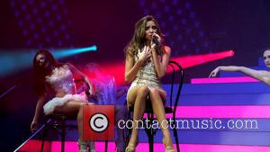 Girls Aloud and Nadine Coyle - Girls Aloud Perform - England, United Kingdom - Thursday 21st February 2013