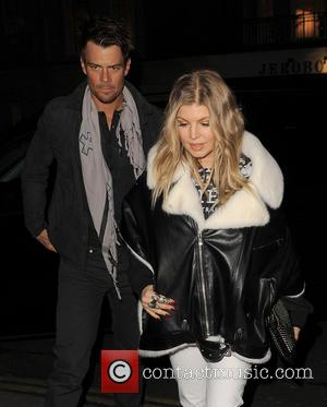 Pregnant Fergie And Husband Josh Duhamel Hit The Streets Of London