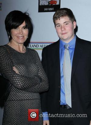 Hylda Queally with her son - US - Ireland Alliance honor Actor Colin Farrell - Beverly Hills, California, United States...