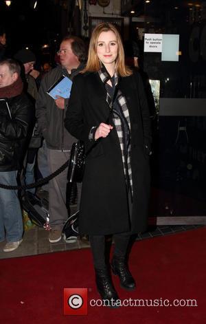 Laura Carmichael - Macbeth Opening Night - London, United Kingdom - Friday 22nd February 2013