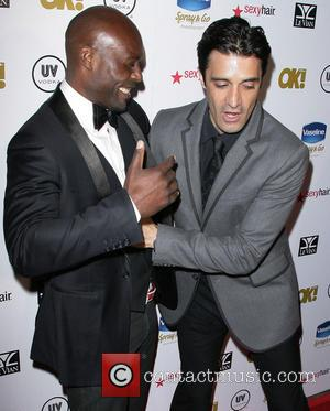 Jimmy Jean-louis and Gilles Marini