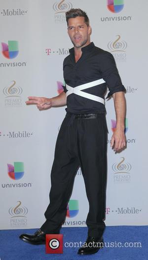 Ricky Martin - 25th Anniversary Of Univision's 'Premio Lo Nuestro A La Musica Latina' held at the American Airline arena...