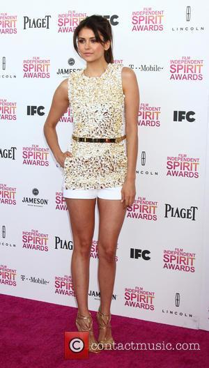 Nina Dobrev - 2013 Film Independent Spirit Awards at Santa Monica Beach - Arrivals - Santa Monica, CA, United States...