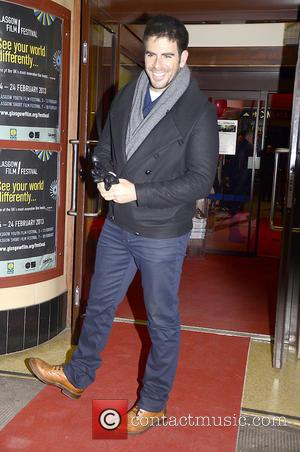 Eli Roth - UK Premiere of Aftershock - Glasgow, Scotland - Saturday 23rd February 2013