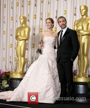 Jennifer Lawrence and Jean Dujardin
