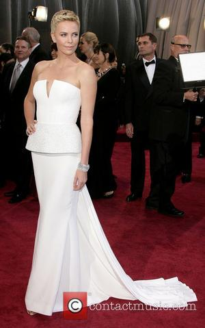 Charlize Theron - Oscars Red Carpet Arrivals at Oscars - Los Angeles, California, United States - Sunday 24th February 2013
