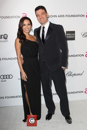 JC Chasez and Kathryn Smith - 21st Annual Elton John AIDS Foundation's Oscar Viewing Party - Los Angeles, California, United...