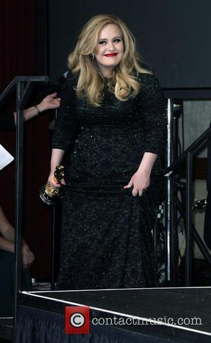 Adele Adkins - 85th Annual Oscars at Oscars - Los Angeles, California, United States - Sunday 24th February 2013