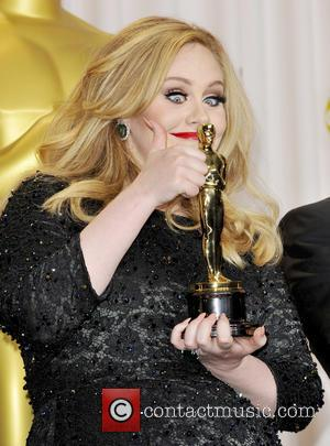 Adele Adkins - The 85th Annual Oscars at Hollywood & Highland Center - Press Room - Los Angeles, California, United...