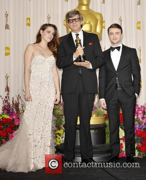 Kristen Stewart, Rick Carter and Daniel Radcliffe - The 85th Annual Oscars at Hollywood & Highland Center - Press Room...