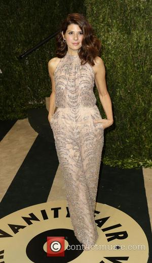 Marisa Tomei - 2013 Vanity Fair Oscar Party at Sunset Tower - Arrivals - West Hollywood, California, United States -...