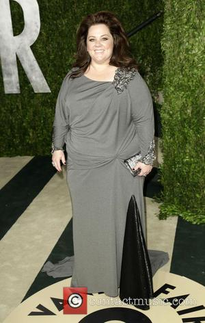 Melissa McCarthy - 2013 Vanity Fair Oscar Party at Sunset Tower - Arrivals - West Hollywood, California, United States -...