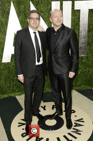 Paul Haggis - 2013 Vanity Fair Oscar Party at Sunset Tower - Arrivals - West Hollywood, California, United States -...