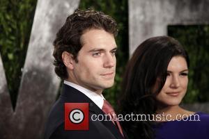 Henry Cavill and Gina Carano