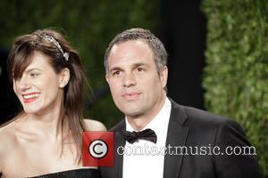 Mark Ruffalo (R) and Sunrise Coigney - 2013 Vanity Fair Oscar Party at Sunset Tower - Arrivals - Los Angeles,...