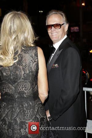 Peter Fonda and Margaret DeVogelaere - 2013 Vanity Fair Oscar Party at Sunset Tower - Arrivals - Los Angeles, CA,...