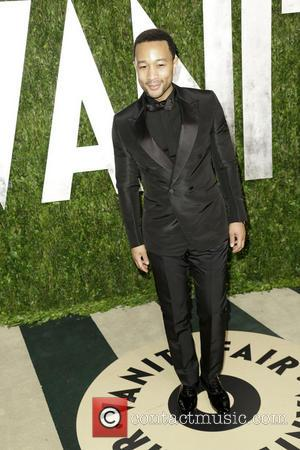 John Legend - 2013 Vanity Fair Oscar Party at Sunset Tower - Arrivals - Los Angeles, CA, United States -...