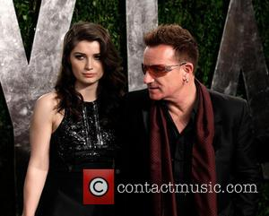 Eve Hewson and Bono - 2013 Vanity Fair Oscar Party at Sunset Tower - Arrivals - West Hollywood, California, United...