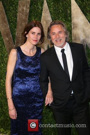 Don Johnson and Kelley Phleger - 2013 Vanity Fair Oscar Party at Sunset Tower - Arrivals - Los Angeles, California,...