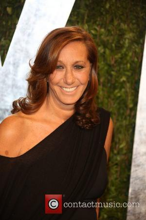 Donna Karan - 2013 Vanity Fair Oscar Party at Sunset Tower - Arrivals - Los Angeles, California, United States -...