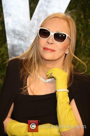 Faye Dunaway - 2013 Vanity Fair Oscar Party at Sunset Tower - Arrivals - Los Angeles, California, United States -...