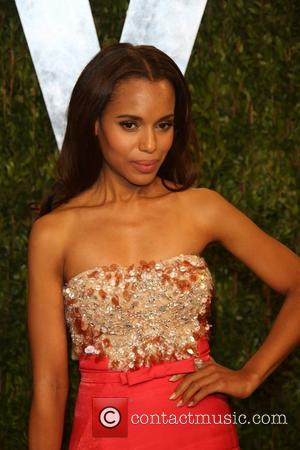 Kerry Washington - 2013 Vanity Fair Oscar Party at Sunset Tower - Arrivals - Los Angeles, California, United States -...