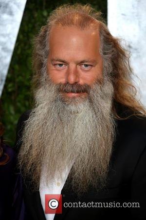 Rick Rubin - 2013 Vanity Fair Oscar Party at Sunset Tower - Arrivals - Los Angeles, California, United States -...