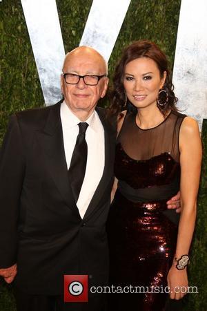 Rupert Murdoch - Vanity Fair Oscar Party