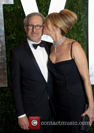 Steven Spielberg - Vanity Fair Oscar Party