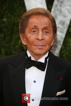 Valentino - 2013 Vanity Fair Oscar Party at Sunset Tower - Arrivals - Los Angeles, California, United States - Monday...