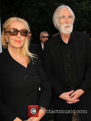 Margaret Menegoz and Michael Haneke