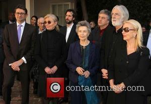 Mr. Axel Cruau, Margaret Menegoz, Emmanuelle Riva, Michael Haneke and Susanne Haneke