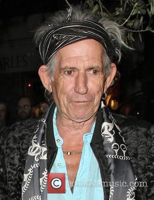 Keith Richards Is A Grandad Again